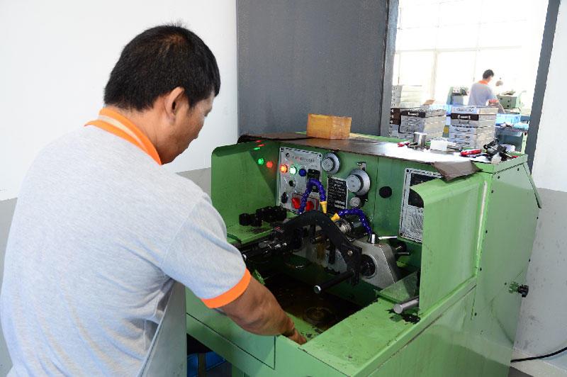 Stepper Motor Components Production workshop