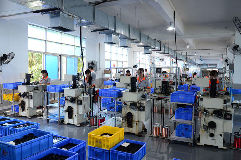 tdl High Speed Stepper Motor Production workshop