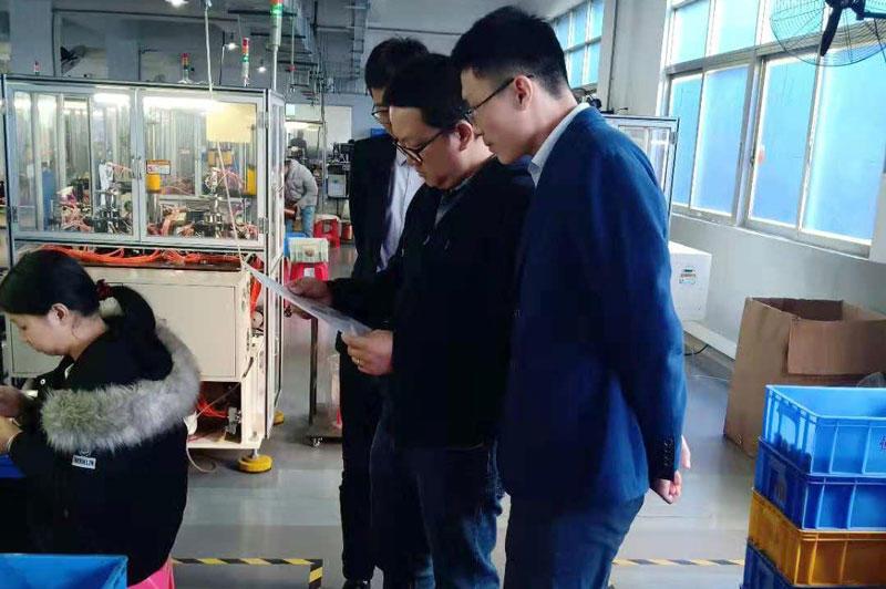 TDL stepper motor   factory customer visit