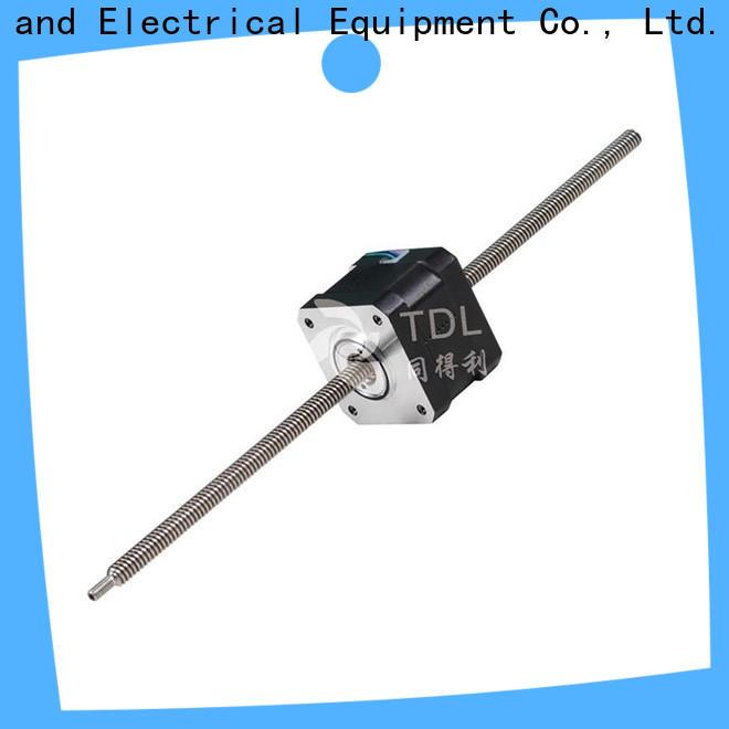 TDL durable servo motor linear actuator best manufacturer for stage lighting