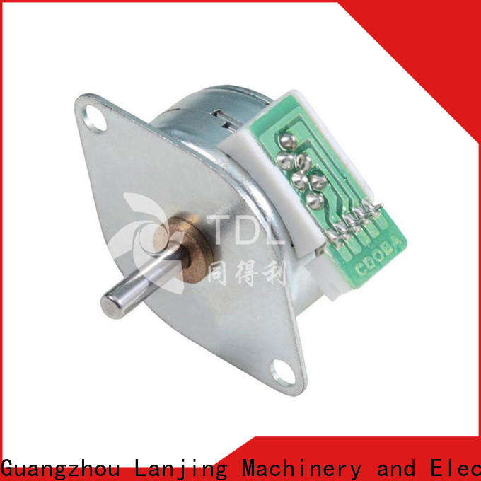 TDL quality powerful stepper motor supply for security equipment