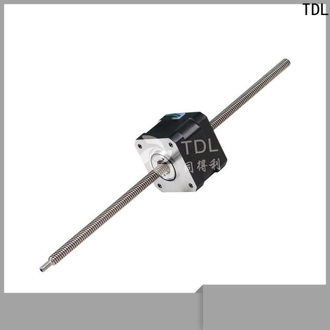 TDL hot selling stepper motor linear motion best supplier for three dimensional printer
