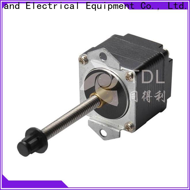 TDL stepper motor linear motion best supplier for financial equipment