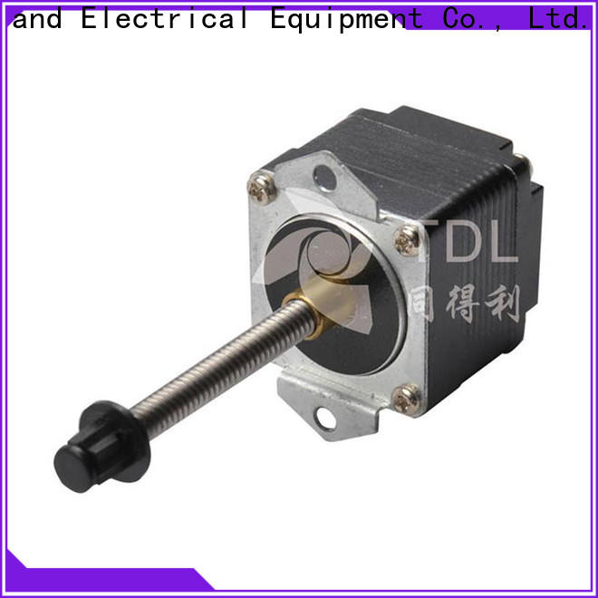 TDL stepper motor linear motion best supplier for financial equipment