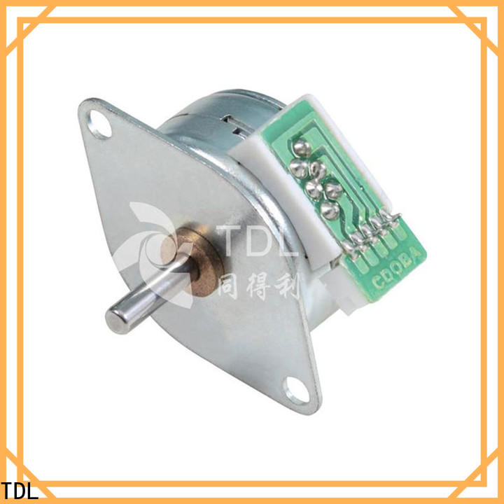 TDL powerful stepper motor supply for security equipment