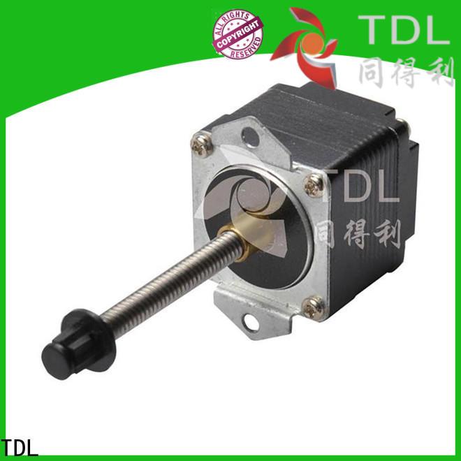 TDL sturdy linear drive motor series for three dimensional printer