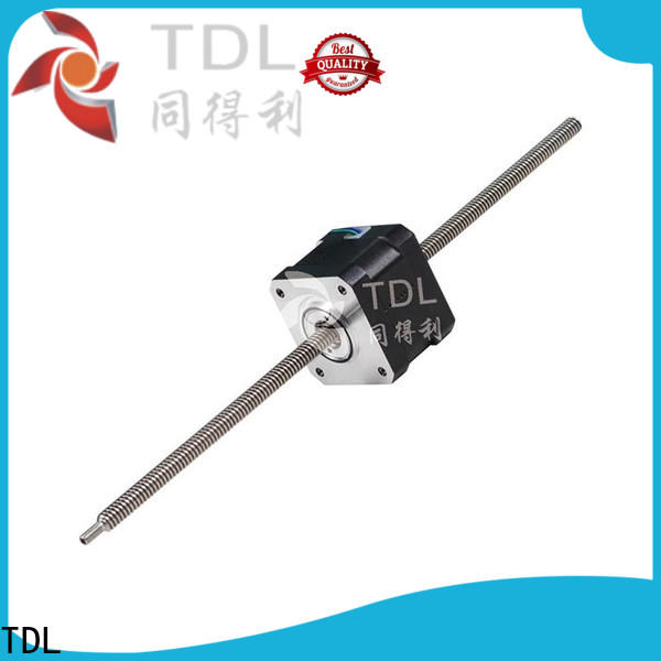 TDL cost-effective captive linear stepper motor company for financial equipment