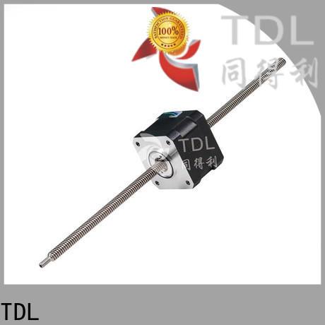 TDL quality miniature linear stepper motor supplier for robots