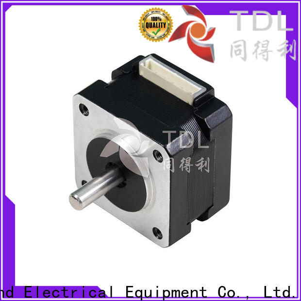 TDL 2 phase hybrid stepper motor factory direct supply for three dimensional printer