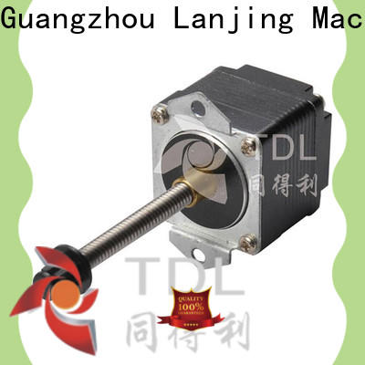 TDL reliable stepper motor linear motion company for stage lighting