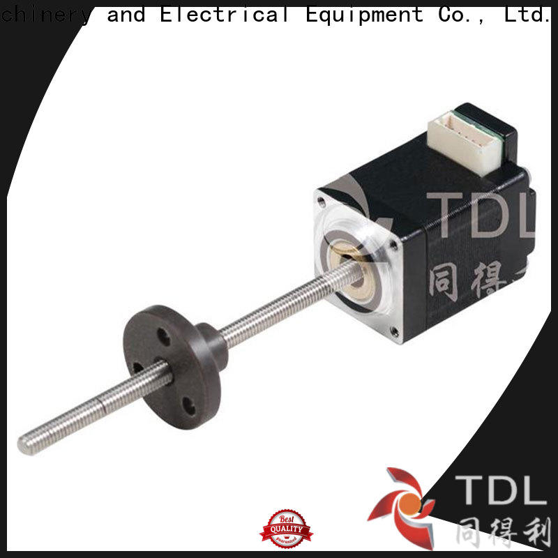 TDL non captive linear stepper motor directly sale for stage lighting