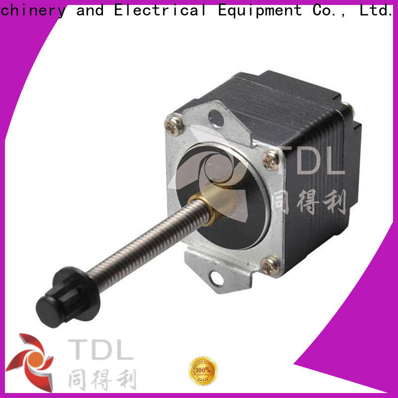 TDL durable hybrid linear stepper motor factory direct supply for robots