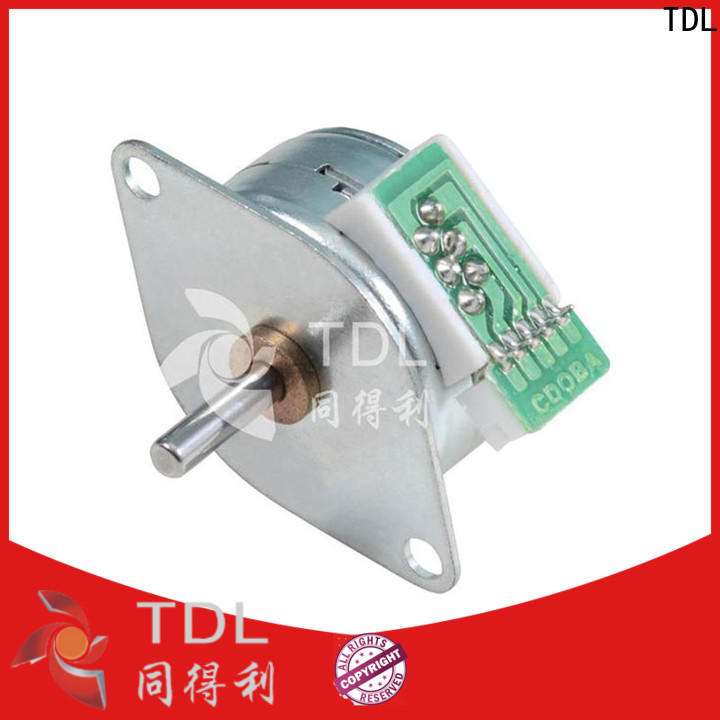 TDL durable low power stepper motor series for business