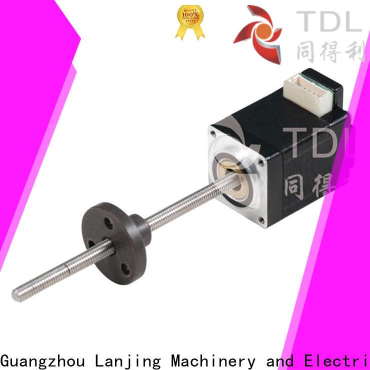 TDL linear screw motor supplier for robots