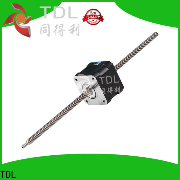TDL sturdy motor for linear actuator manufacturer for financial equipment