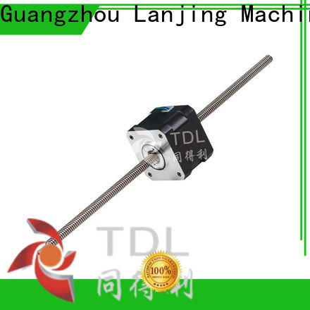 TDL non captive linear stepper motor supplier for stage lighting