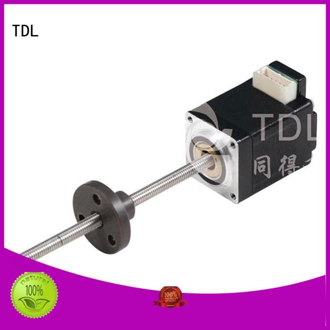 TDL brushless motor for linear actuator superior quality for stage lighting