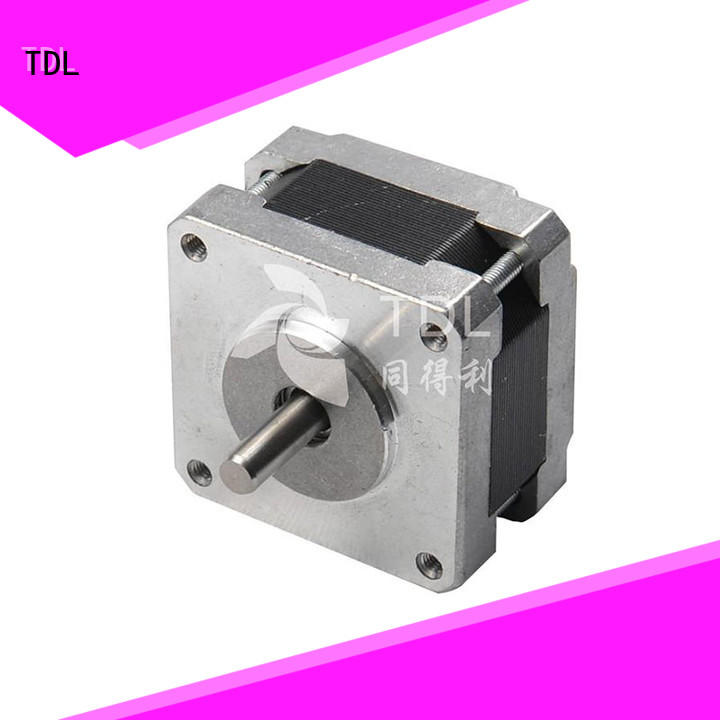 TDL reliable electric stepper motor series for security equipment