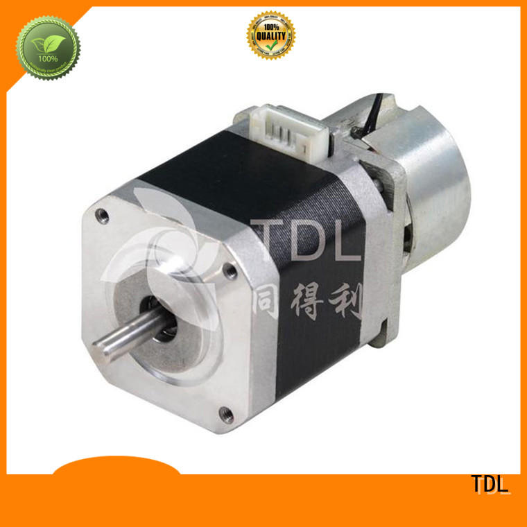 stepper brake TDL Brand stepper motor 1.8 degree per step factory