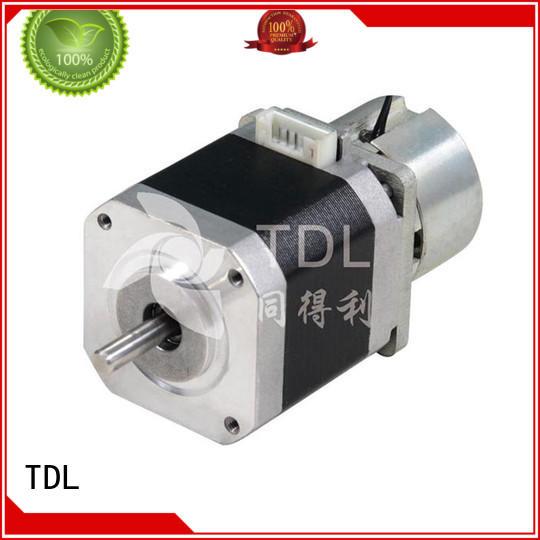 TDL 42 HB Brake Stepper motor-1.8 °