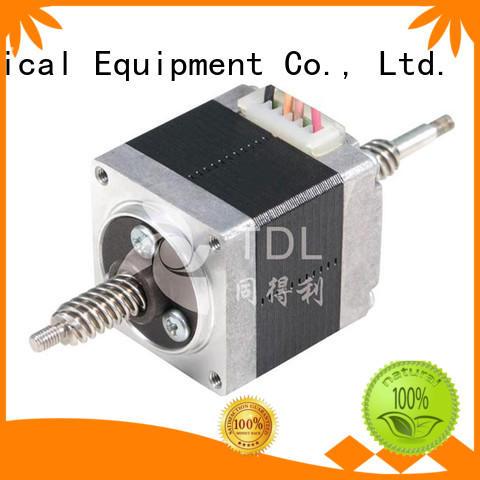 TDL brushless stepper motor linear actuator best for security equipment