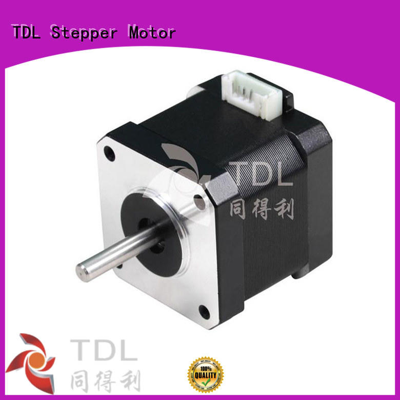 TDL durable step up motor supplier for security equipment