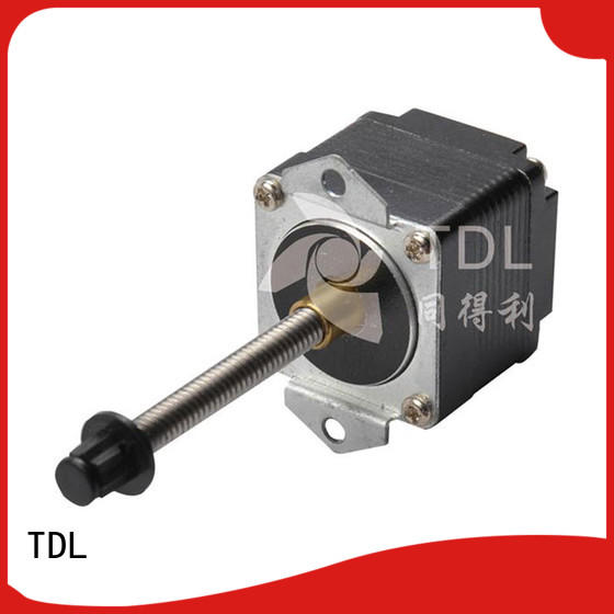 TDL deceleration micro linear stepper motor best supplier for security equipment