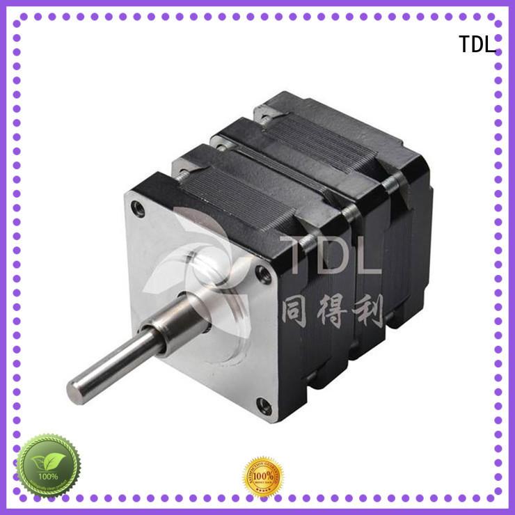 TDL current two phase hybrid stepper motor supplier for robots