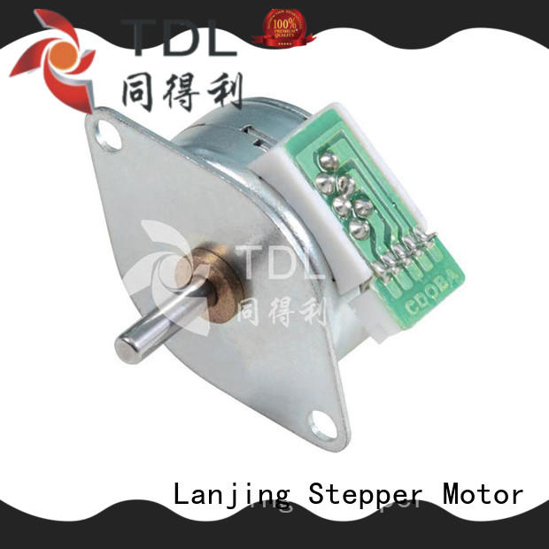 high accuracy high quality stepper motors wholesale for security equipment TDL