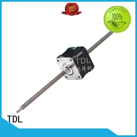 TDL stable non captive linear stepper motor best manufacturer for robots