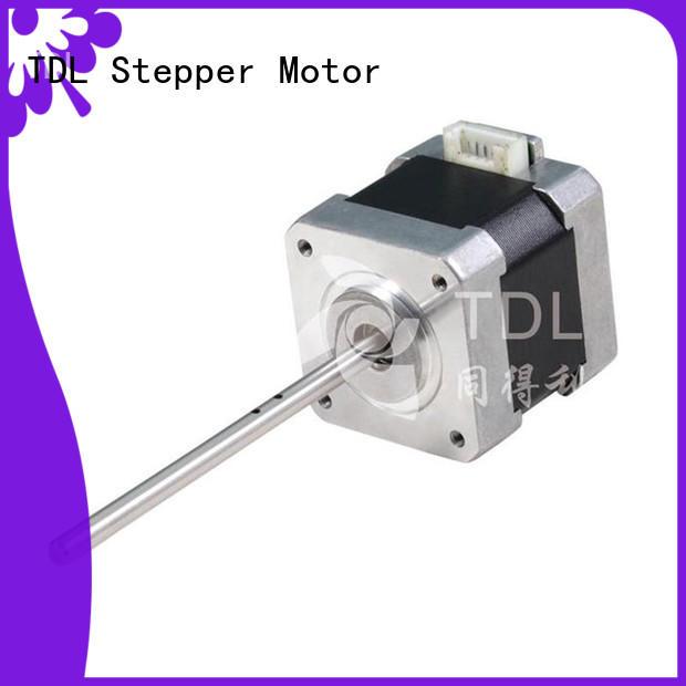 TDL energy-saving step motor servo motor series for three dimensional printer