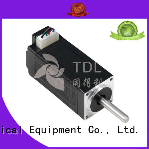 TDL stepper motor efficiency series for security equipment