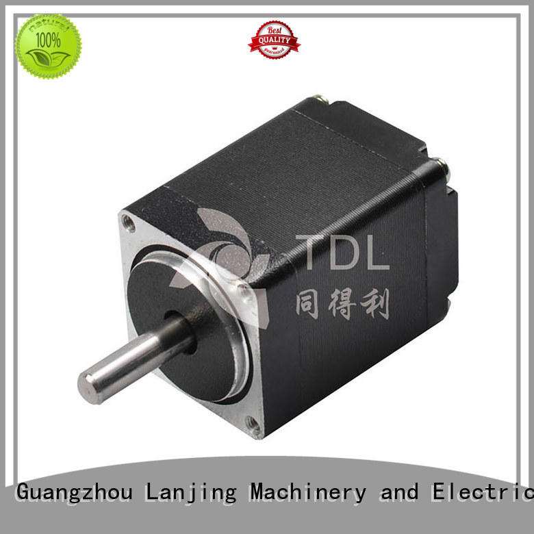 brushless rotary stepper motor with low noise for security equipment TDL
