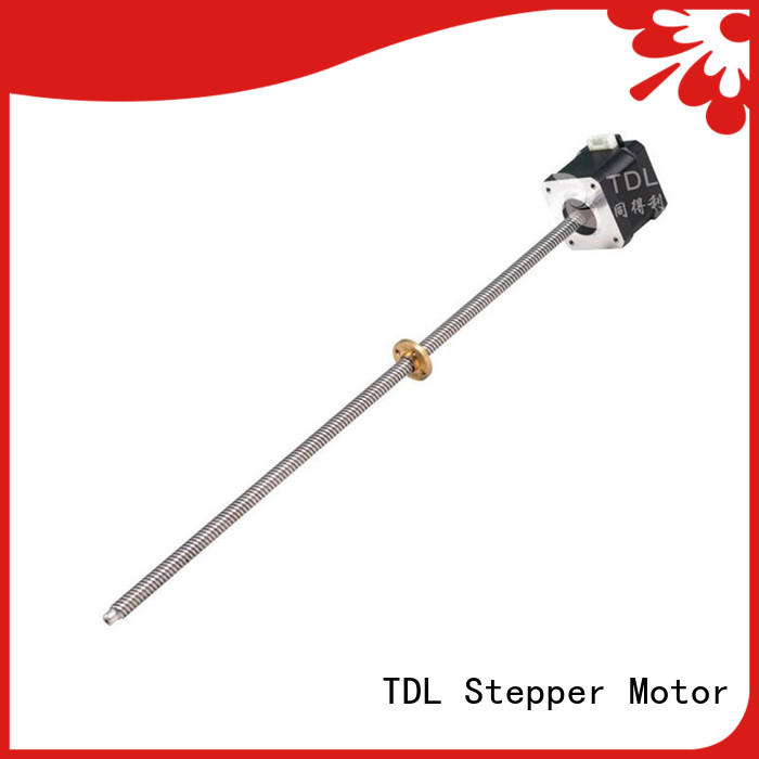 TDL linear screw motor factory for security equipment