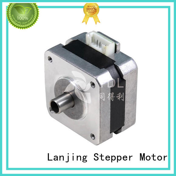 TDL hybrid servo motor with low noise for security equipment
