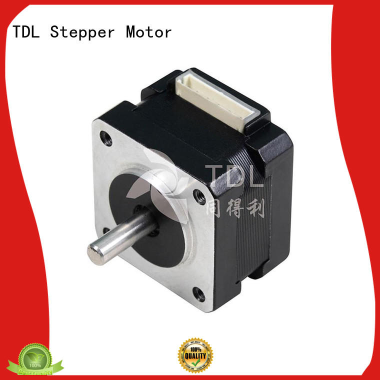 TDL durable fast stepper motor supply for security equipment