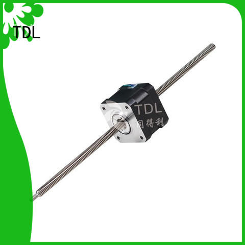 TDL miniature linear stepper motor factory for security equipment
