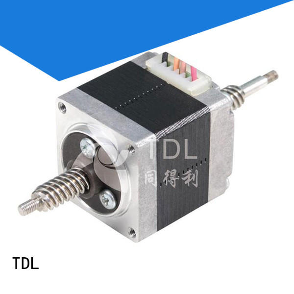 TDL practical stepper motor linear actuator directly sale for financial equipment