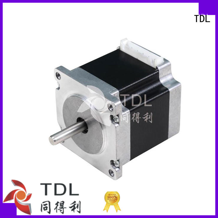 TDL motor stepper motor model deceleration for