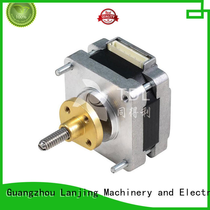 TDL captive linear stepper motor from China for robots
