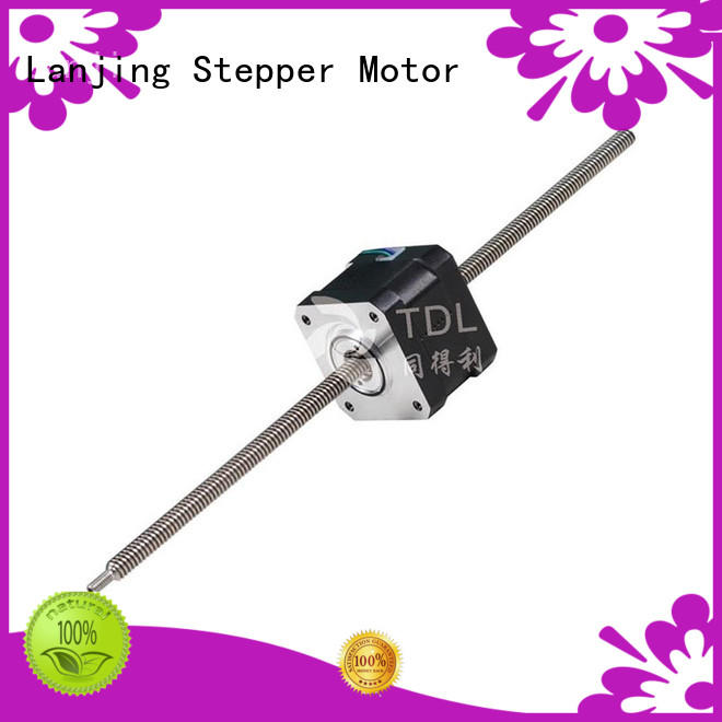 TDL durable servo motor linear actuator supplier for security equipment