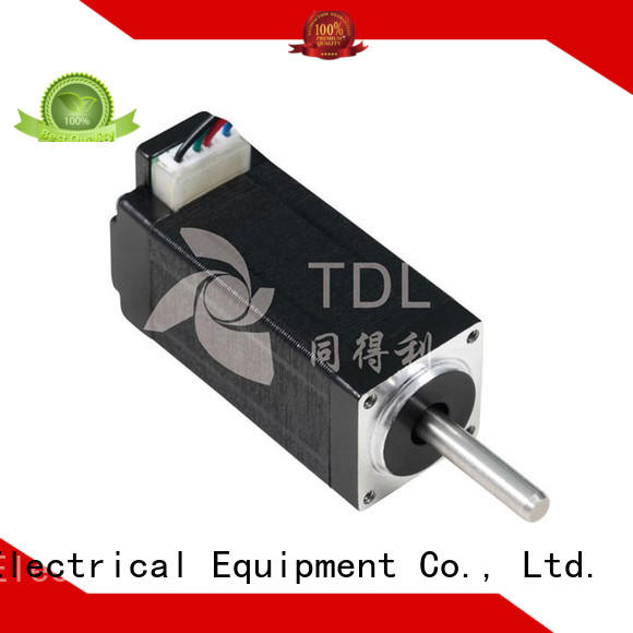 TDL deceleration step by step motor for three dimensional printer