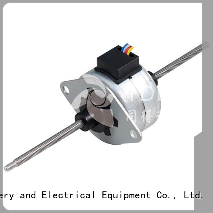 geared stepper motor & permanent magnet induction motor