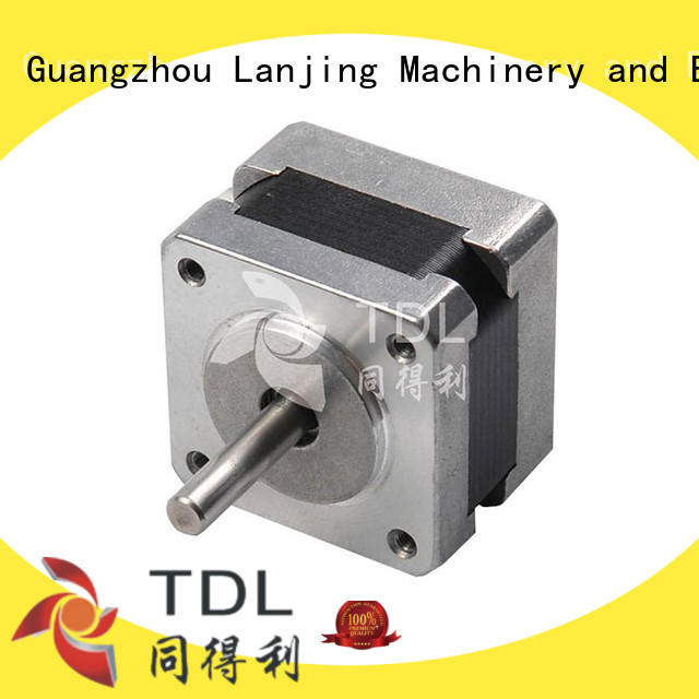 TDL hot sale precision stepper motor with low noise for security equipment