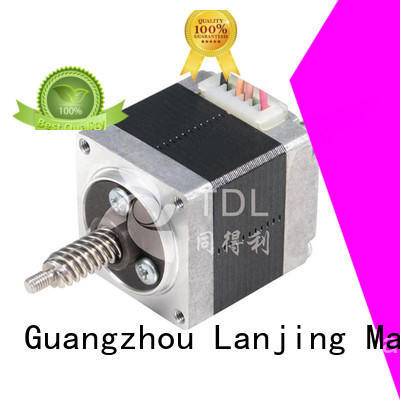 non captive linear stepper motor for security equipment TDL