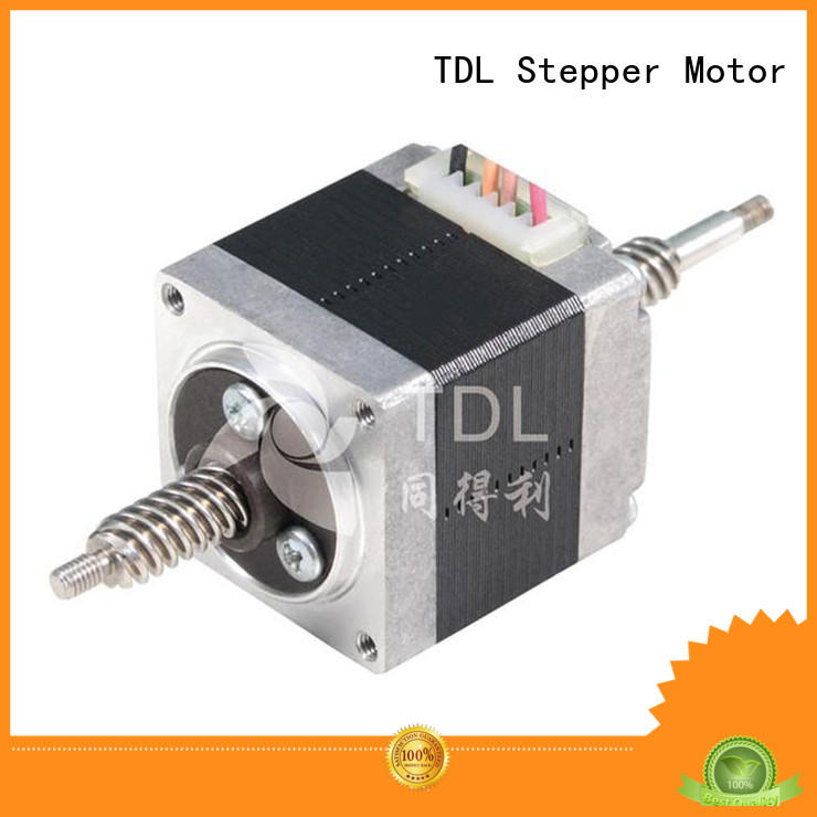 TDL non captive linear stepper motor manufacturer for financial equipment