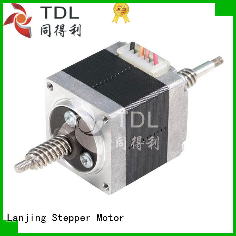 brushless lineer step motor supplier for financial equipment TDL