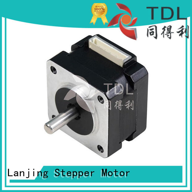 TDL sturdy 2-phase stepping motor manufacturer for three dimensional printer