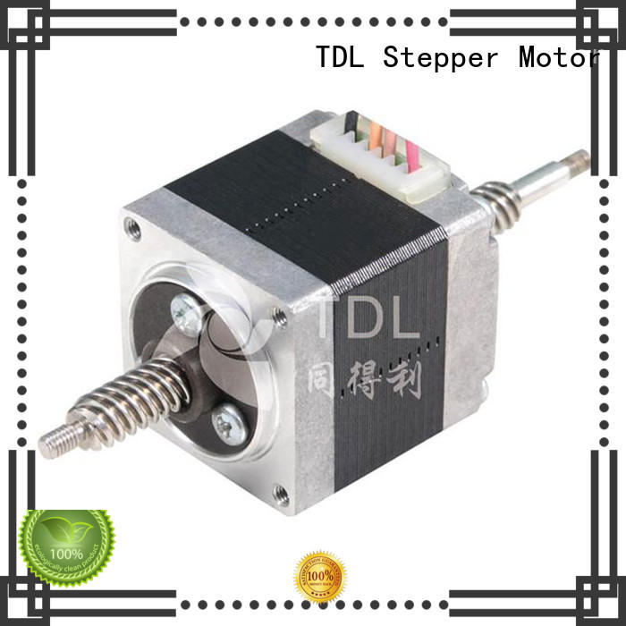 TDL micro linear stepper motor supply for robots