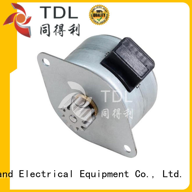 TDL high accuracy 2 phase stepper motor supplier for three dimensional printer